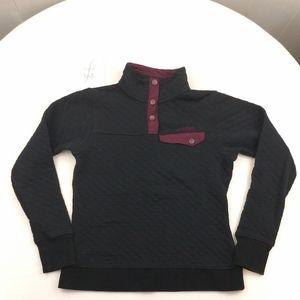 SPYDER Women's quilted pullover sweatshirt